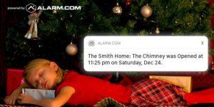 Catch Santa Claus this Christmas with Alarm.com Cameras