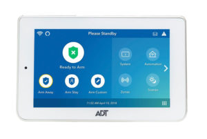 ADT Command Secondary Color Touchscreen Keypad