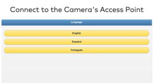 ADT Control Camera Language Screen