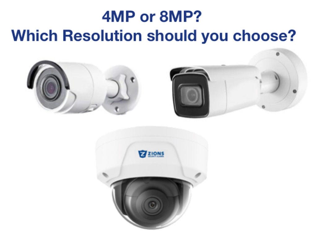 4MP or 8MP: What Camera Resolution Means for You
