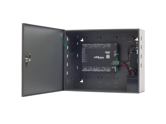 Browser Based Card Access System with Power Supply