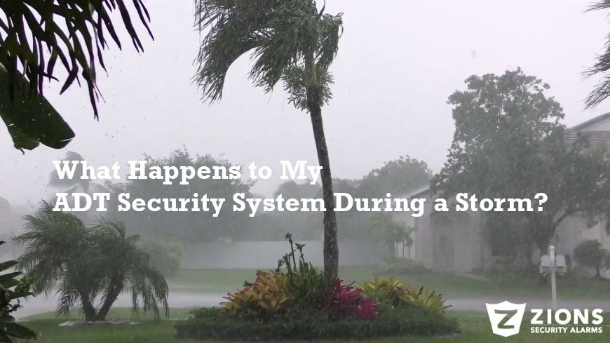 What Happens to My ADT Security System During a Storm