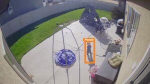 alarm.com outdoor wifi camera sample view