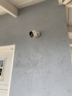Alarm.com outdoor wifi camera
