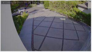 alarm.com outdoor camera driveway