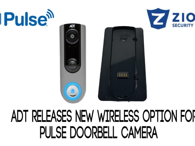 ADT pulse battery pack new doorbell camera