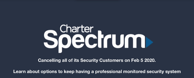 CANCELED SPECTRUM SECURITY CUSTOMERS