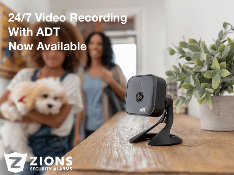 ADT 24/7 Video Recording