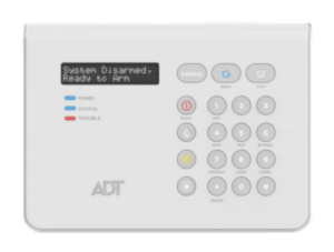 ADT 2X16AIO LCD Command Panel