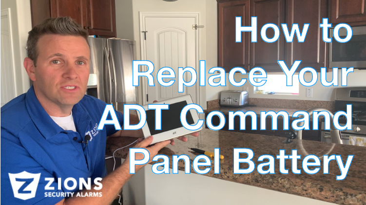 How to replace your ADT command panel battery
