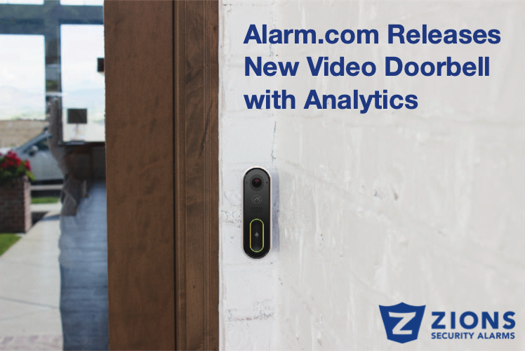 Alarm.com Releases new video doorbell with analytics