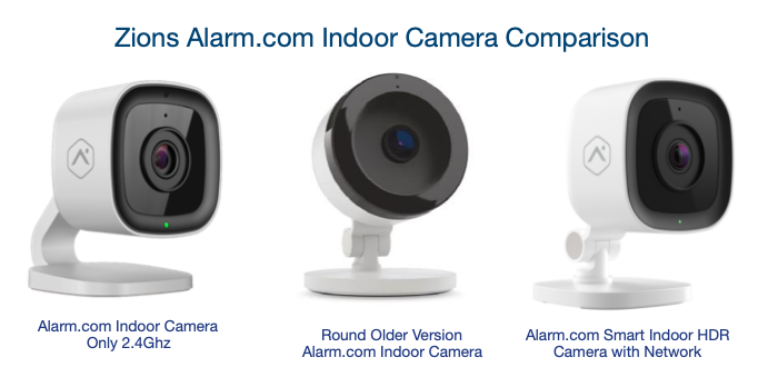 Alarm.com Indoor Camera Comparison