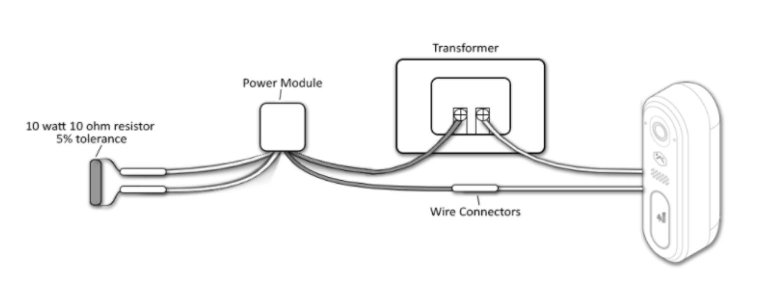 alarm.com doorbell wiring diagram