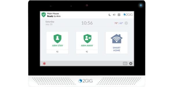 2GIG Edge Security LTE Control Panel