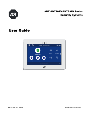 ADT Command Printed User Guide