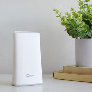 IQ WiFi Mesh Router on table